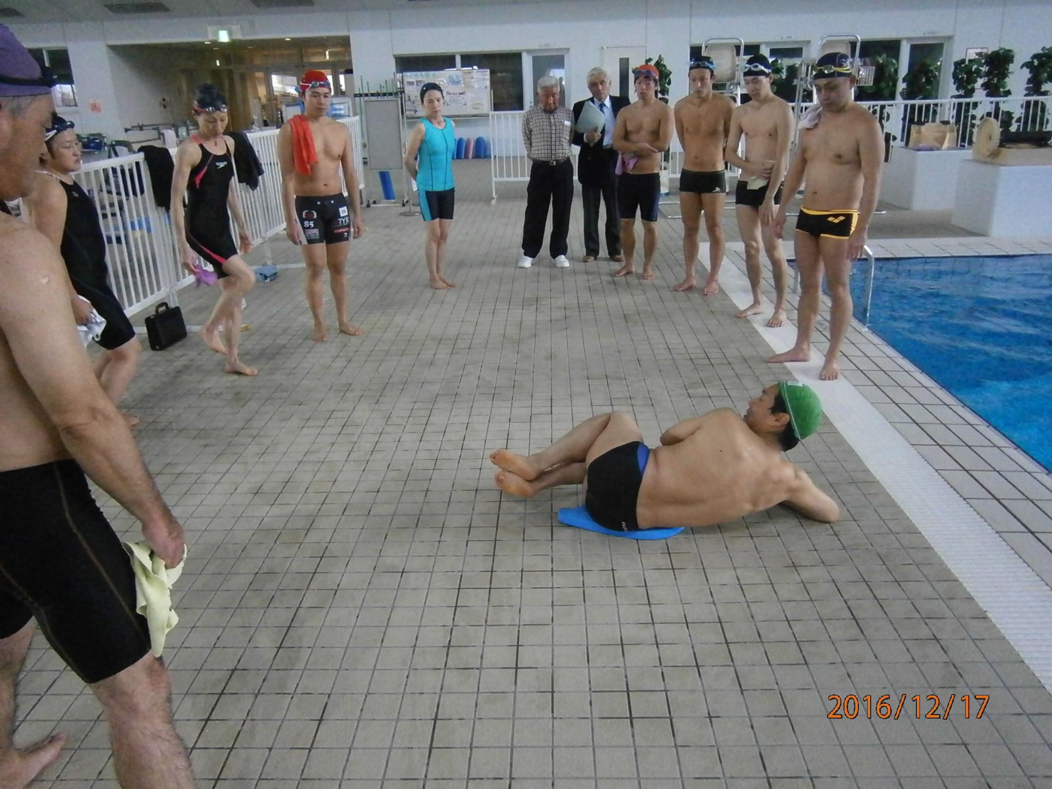 H28年度 第6回 日本泳法講習会